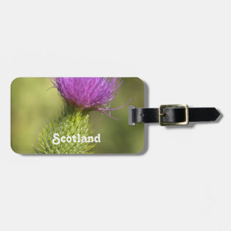 Scotland Thistle Bag Tag