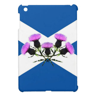 Scotland, Thistle flower andrews  flag iPad Mini Covers