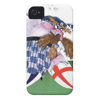 scotland v england balls, tony fernandes iPhone 4 Case-Mate case