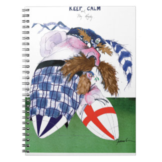 scotland v england balls, tony fernandes notebook