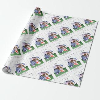 scotland v england balls, tony fernandes wrapping paper