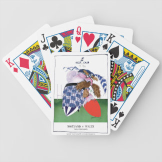 scotland v wales rugby balls tony fernandes bicycle playing cards