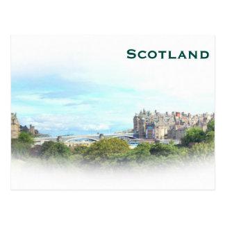 Scotland Vintage Tourism Travel Add Postcard