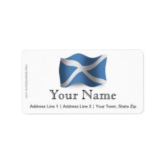 Scotland Waving Flag