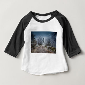 Scotland Winter Time Baby T-Shirt