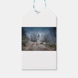 Scotland Winter Time Gift Tags