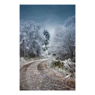 Scotland Winter Time Stationery