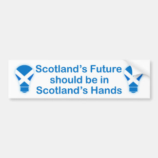 Scotland's Future Scottish Independence Sticker