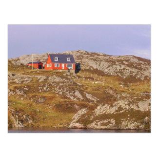 Scotlands Highlands Cottage Postcard