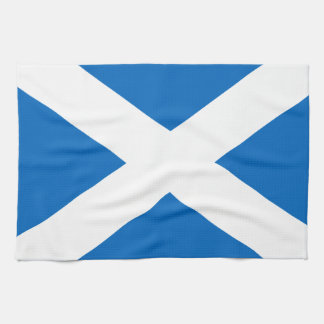 Scotland's Saltire,Scottish Flag (Official Colour) Kitchen Towel