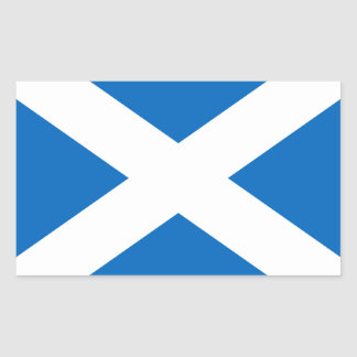 Scotland's Saltire,Scottish Flag (Official Colour) Sticker