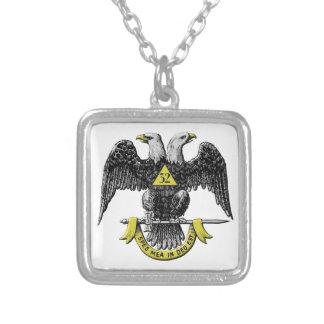 scotritemason copy silver plated necklace