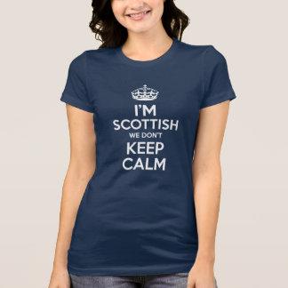 Scots Don't Keep Calm T-Shirt