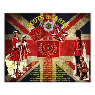 Scots Guards 1642-present day Photo. Photo Print