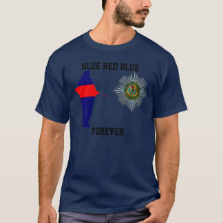 Scots Guards Blue Red Blue Forever T-Shirt