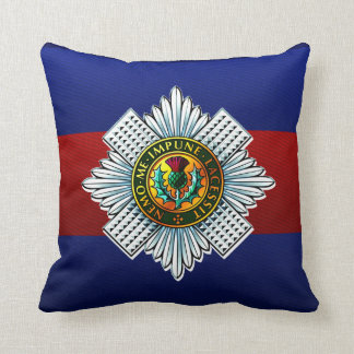 Scots Guards Keep Calm and Stag On Cushion