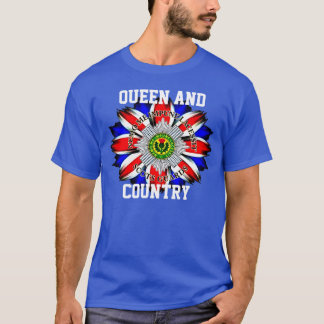 Scots Guards Queen and Country T-Shirt. T-Shirt