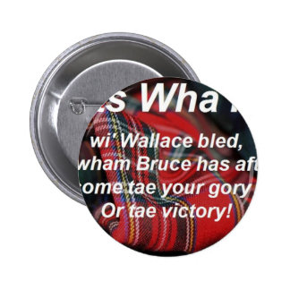 Scots Wha Hae-Tartan Buttons
