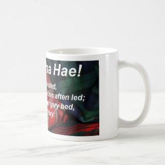 Scots Wha Hae-Tartan Coffee Mug