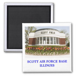 Scott AFB Magnet