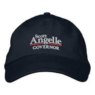 Scott Angelle Hat Embroidered Hat