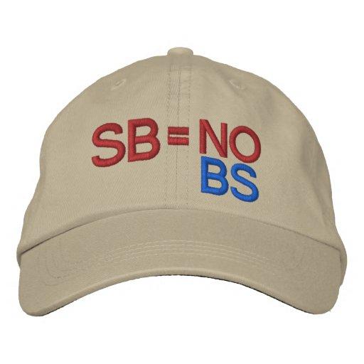 Scott Brown by SRF Embroidered Hat
