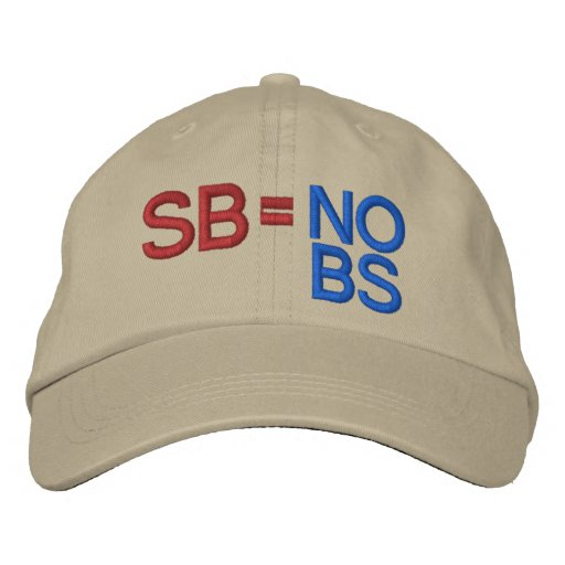 Scott Brown by SRF Embroidered Baseball Caps
