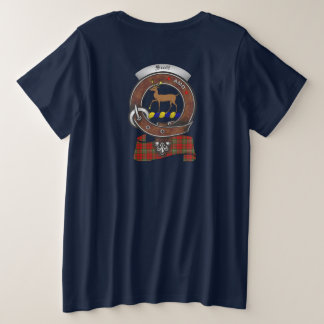 Scott Clan Badge Women's Back Plus Size T-Shirt