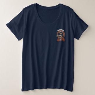 Scott Clan Badge Women's Pocket Plus Size T-Shirt