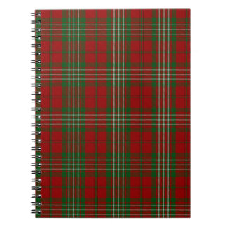 Scott Clan Family Tartan Notebooks