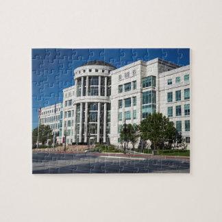 Scott E Matheson courthouse, Utah State Court Puzzles