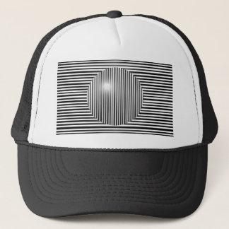 Scott E. Morris Optical Illusion Trucker Hat