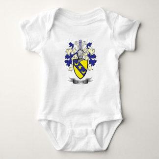 Scott Family Crest Coat of Arms Baby Bodysuit