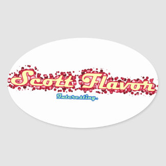 Scott Flavor: Interesting Sticker