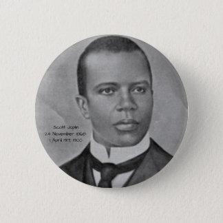 Scott Joplin 2 Inch Round Button