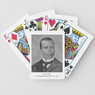 Scott Joplin Bicycle Playing Cards