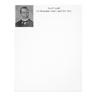 Scott Joplin Letterhead