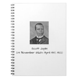 Scott Joplin Notebook