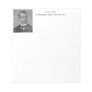 Scott Joplin Notepad