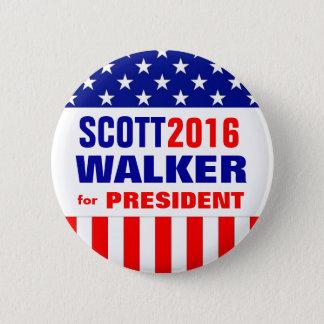 SCOTT WALKER 2016 2 INCH ROUND BUTTON