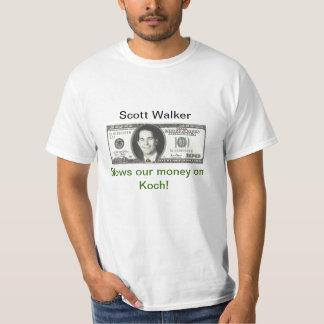 Scott Walker blows our money T-Shirt