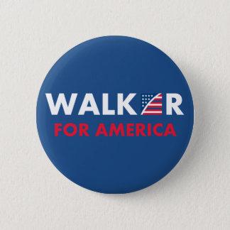 Scott Walker For America 2 Inch Round Button