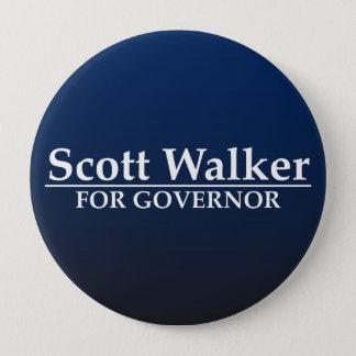 Scott Walker for Governor 4 Inch Round Button