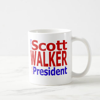 Scott Walker for President Coffee Mug
