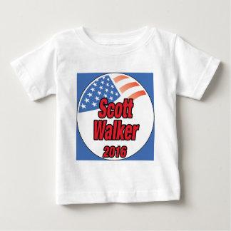 Scott Walker for president in 2016 Baby T-Shirt