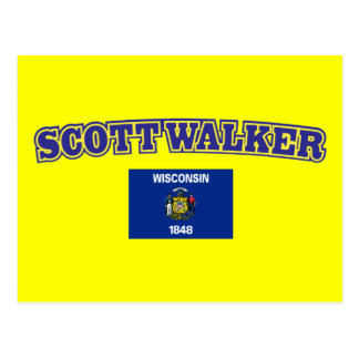 Scott Walker for Wisconsin Postcard