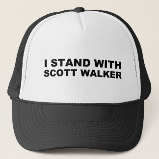 Scott Walker I Stand Trucker Hat
