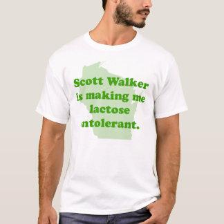 Scott Walker intolerance T-Shirt