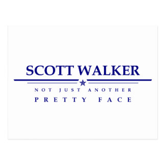 Scott Walker: Not Just Another Pretty Face Postcard