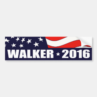 Scott Walker President 2016 Bumper Sticker